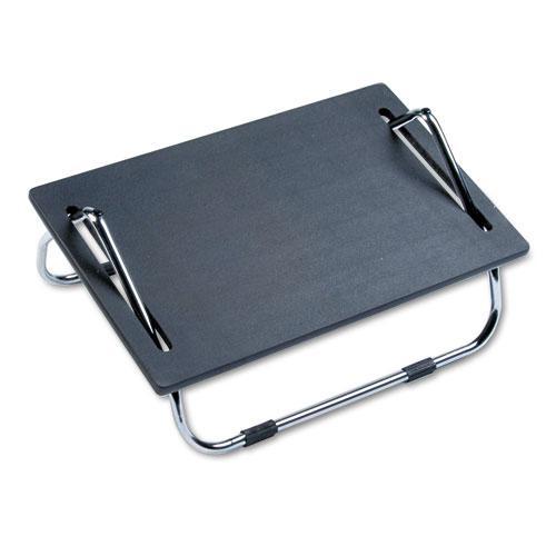 Ergo-Comfort Adjustable Footrest, 18.5w x 11.5d x 8h, Black. Picture 2