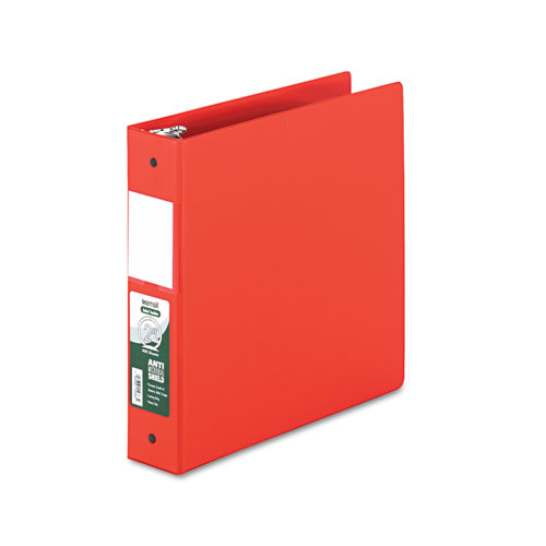 Lot of 2 Samsill Antimicrobial 4-inch Round Ring View Binder