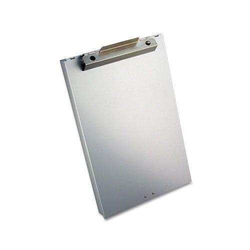 "Redi-Rite Aluminum Storage Clipboard, 1"" Clip Cap, Holds 8.5 x 12 Sheets, Silver. Picture 2"