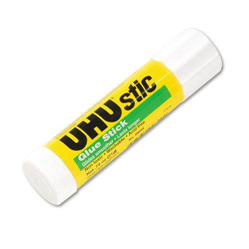Stic Permanent Glue Stick, 0.74 oz, Dries Clear. Picture 1