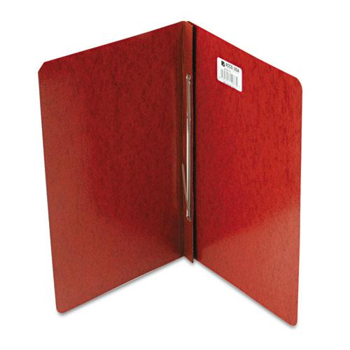 "Presstex Report Cover, Side Bound, Prong Clip, Legal, 3"" Cap, Red. Picture 1"