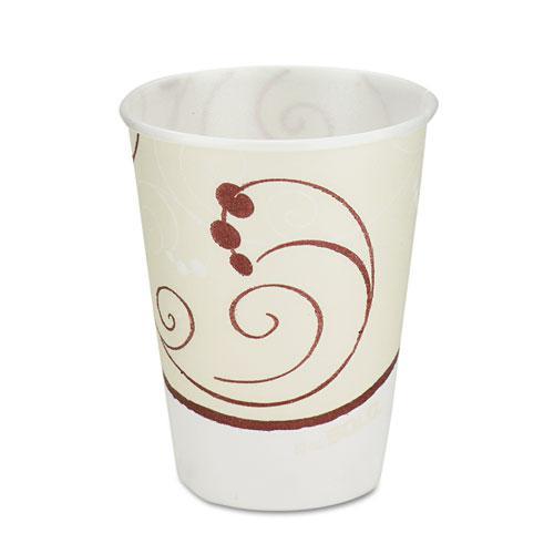 Symphony Design Trophy Foam Hot/Cold Drink Cups, 10 oz, 60/Pack, 25 Packs/Carton. Picture 1