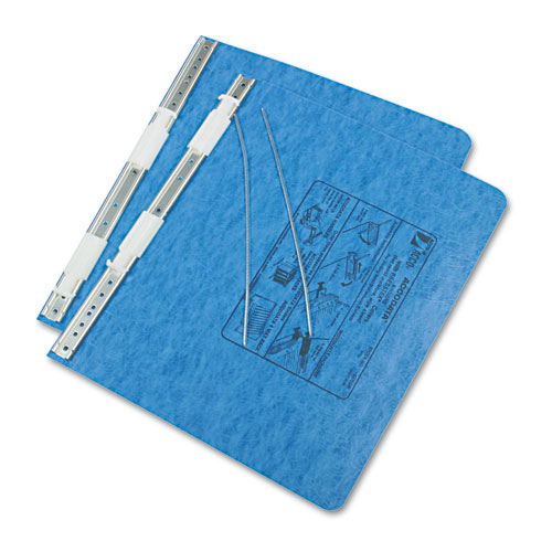 """PRESSTEX Covers with Storage Hooks, 2 Posts, 6"""" Capacity, 11.75 x 8.5, Light Blue. Picture 2"""