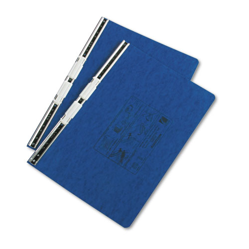 """PRESSTEX Covers with Storage Hooks, 2 Posts, 6"""" Capacity, 14.88 x 8.5, Dark Blue. Picture 2"""