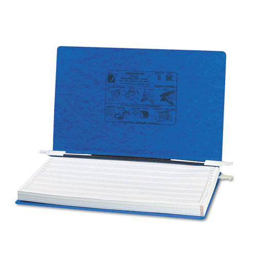 """PRESSTEX Covers with Storage Hooks, 2 Posts, 6"""" Capacity, 14.88 x 8.5, Dark Blue. Picture 1"""
