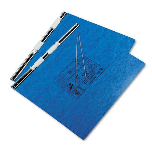 """PRESSTEX Covers with Storage Hooks, 2 Posts, 6"""" Capacity, 14.88 x 11, Light Blue. Picture 2"""