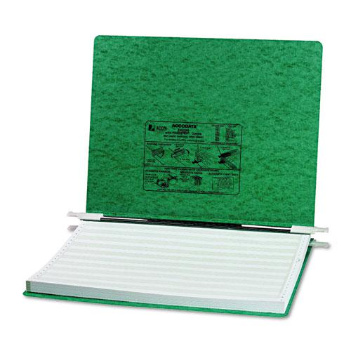 """PRESSTEX Covers with Storage Hooks, 2 Posts, 6"""" Capacity, 14.88 x 11, Dark Green. Picture 1"""