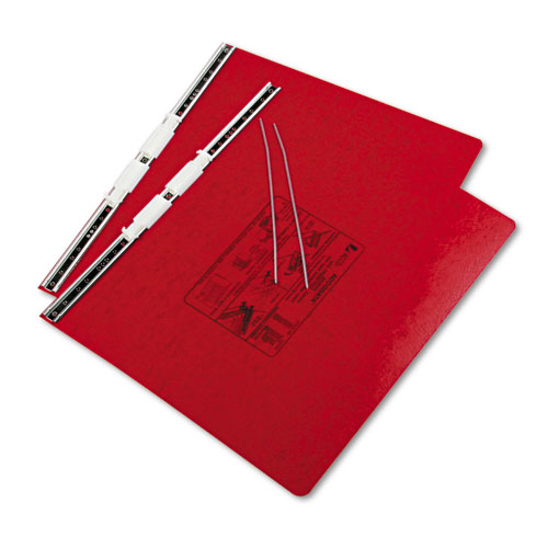 "PRESSTEX Covers with Storage Hooks, 2 Posts, 6"" Capacity, 14.88 x 11, Executive Red. Picture 2"