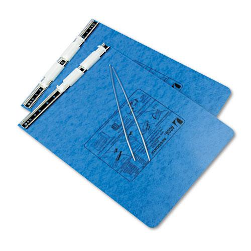 "PRESSTEX Covers with Storage Hooks, 2 Posts, 6"" Capacity, 9.5 x 11, Light Blue. Picture 2"