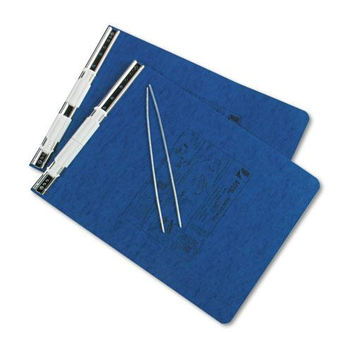 """PRESSTEX Covers with Storage Hooks, 2 Posts, 6"""" Capacity, 9.5 x 11, Dark Blue. Picture 2"""