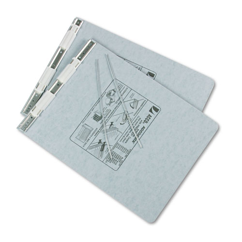 """PRESSTEX Covers with Storage Hooks, 2 Posts, 6"""" Capacity, 9.5 x 11, Light Gray. Picture 2"""