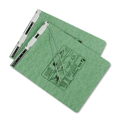 """PRESSTEX Covers with Storage Hooks, 2 Posts, 6"""" Capacity, 9.5 x 11, Light Green. Picture 2"""