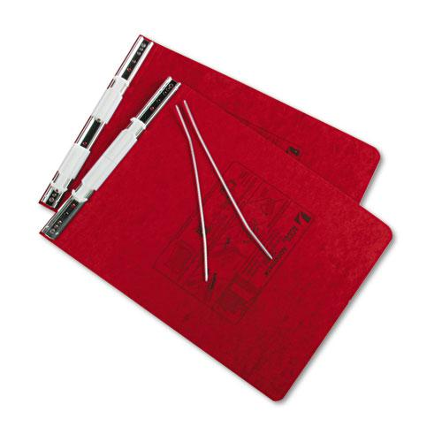 """PRESSTEX Covers with Storage Hooks, 2 Posts, 6"""" Capacity, 9.5 x 11, Executive Red. Picture 2"""
