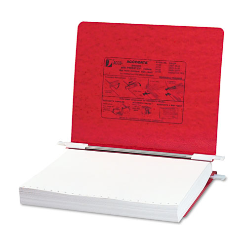 "PRESSTEX Covers with Storage Hooks, 2 Posts, 6"" Capacity, 11 x 8.5, Executive Red. Picture 1"