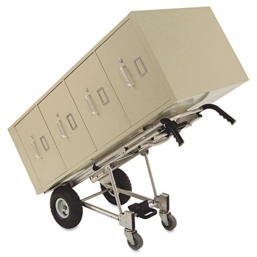 3-in-1 Convertible Hand Truck, 800-1000lb Cap., 21.06 x 21.85 x 48.03, Aluminum. Picture 5