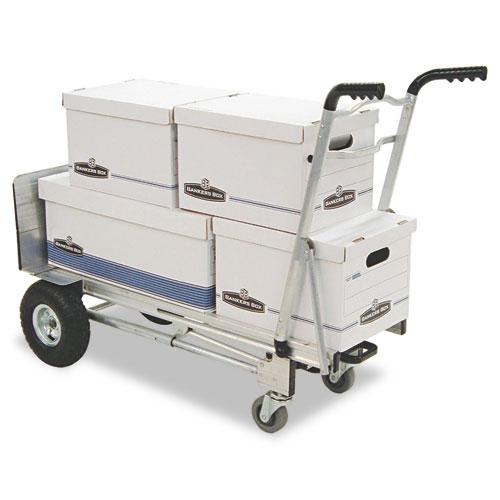 3-in-1 Convertible Hand Truck, 800-1000lb Cap., 21.06 x 21.85 x 48.03, Aluminum. Picture 2