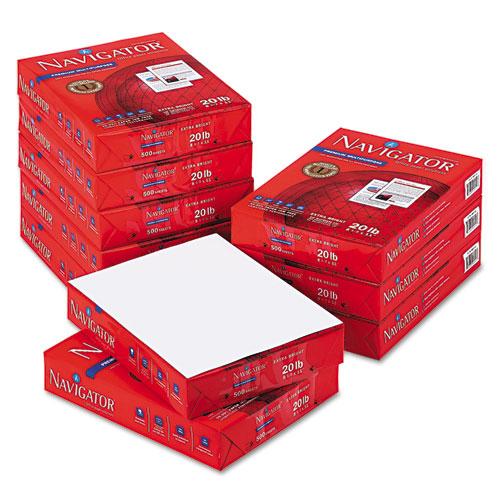 Premium Multipurpose Copy Paper, 97 Bright, 20lb, 8.5 x 11, White, 500 Sheets/Ream, 10 Reams/Carton. Picture 7