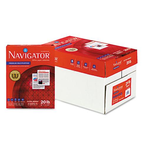 Premium Multipurpose Copy Paper, 97 Bright, 20lb, 8.5 x 11, White, 500 Sheets/Ream, 10 Reams/Carton. Picture 4