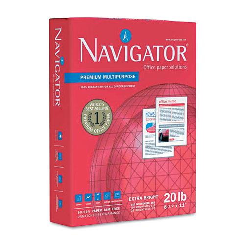 Premium Multipurpose Copy Paper, 97 Bright, 20lb, 8.5 x 11, White, 500 Sheets/Ream, 10 Reams/Carton. Picture 2