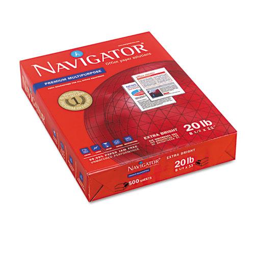Premium Multipurpose Copy Paper, 97 Bright, 20lb, 8.5 x 11, White, 500 Sheets/Ream, 10 Reams/Carton. Picture 3