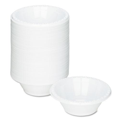 Plastic Dinnerware, Bowls, 5oz, White, 125/Pack. Picture 2