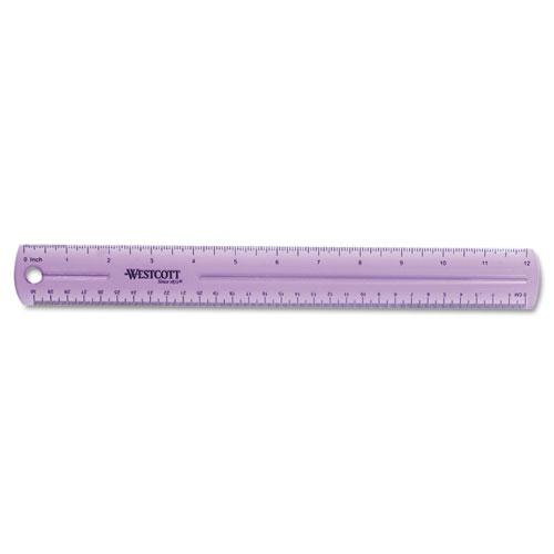 """12"""" Jewel Colored Ruler. Picture 7"""