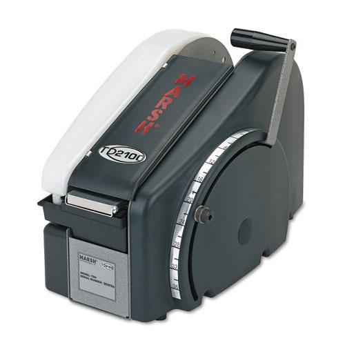 Manual Tape Dispenser For Gummed Tape w/48oz Reservoir, Steel Blades, Black. Picture 1