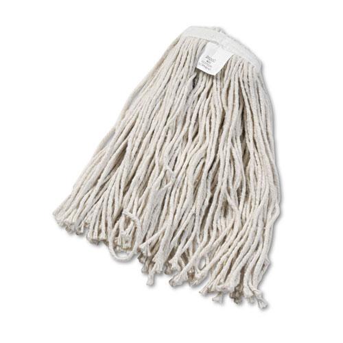 Cut-End Wet Mop Head, Cotton, No. 20, White. Picture 1