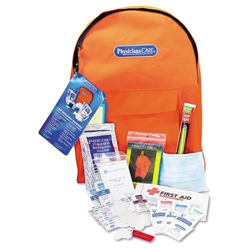 Emergency Preparedness First Aid Backpack, 43 Pieces/Kit. Picture 1