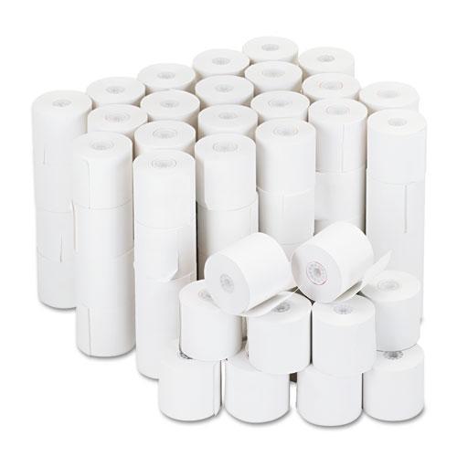"Impact & Inkjet Print Bond Paper Rolls, 0.5"" Core, 2.25"" x 126ft, White, 100/Carton. Picture 1"