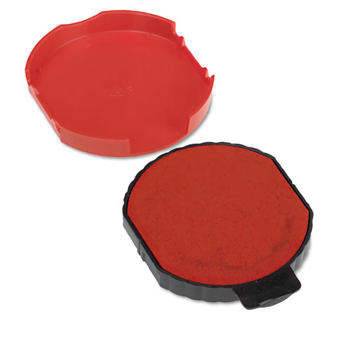 Trodat T5415 Stamp Replacement Ink Pad, 1 3/4, Red. Picture 3
