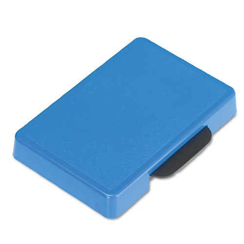 Trodat T5460 Dater Replacement Ink Pad, 1 3/8 x 2 3/8, Blue. Picture 1