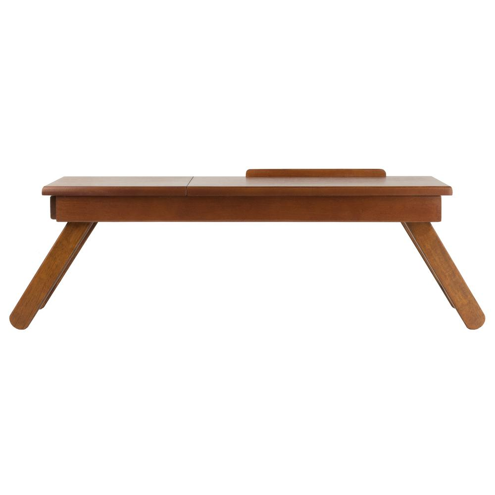 Anderson Lap Desk, Flip Top with Drawer, Foldable Legs. Picture 1