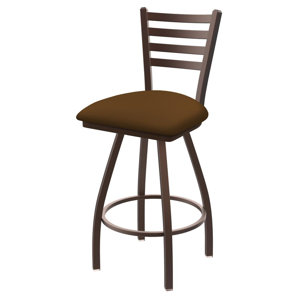 """XL 410 Jackie 30"""" Swivel Bar Stool with Bronze Finish and Canter Thatch Seat. Picture 1"""