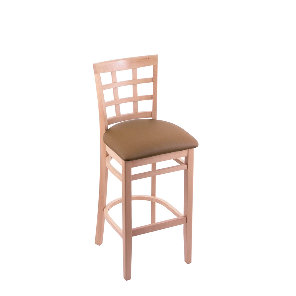 3130 30 Quot Stool With Natural Finish Allante Beechwood Seat