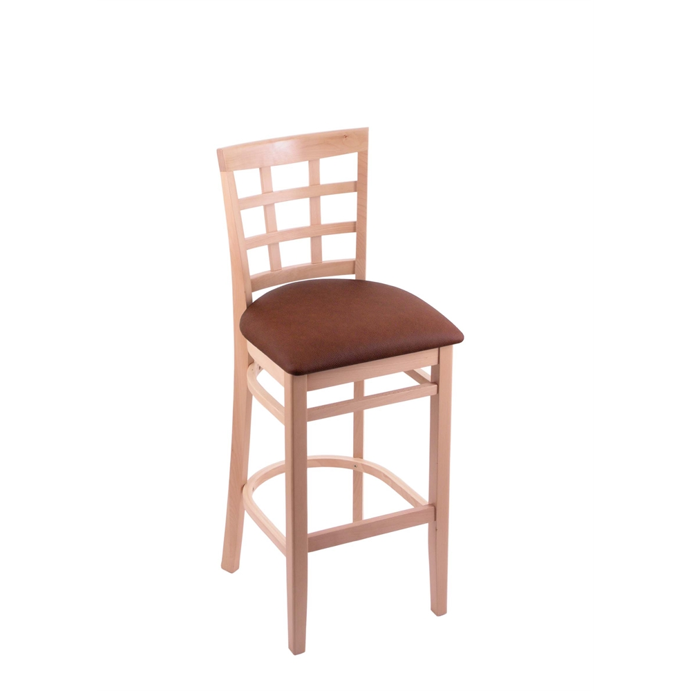 3130 30 Quot Stool With Natural Finish Rein Adobe Seat