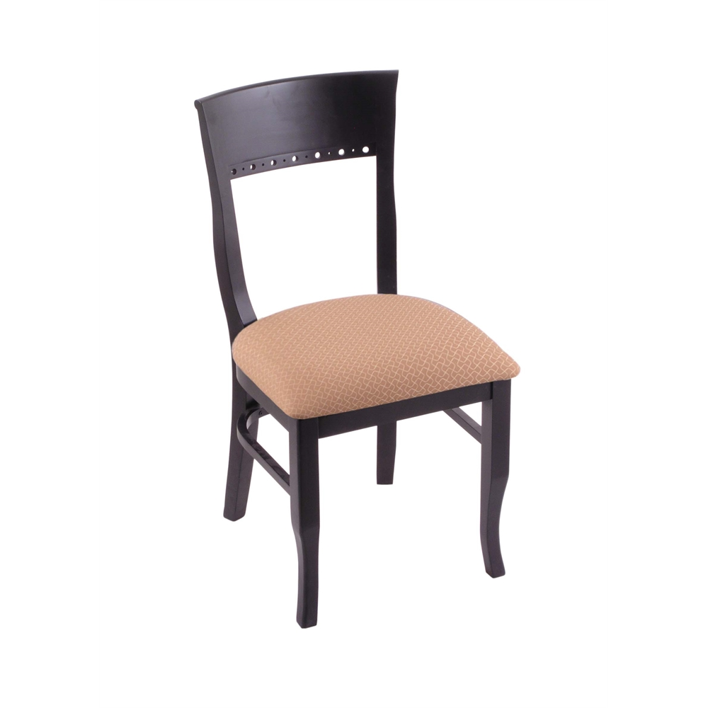 "3160 18"" Chair with Black Finish, Axis Summer Seat"