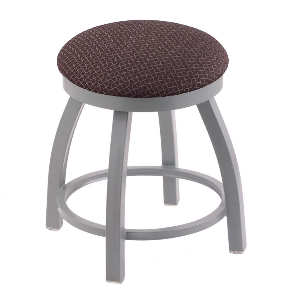 802 Misha 18 Quot Vanity Stool With Anodized Nickel Finish