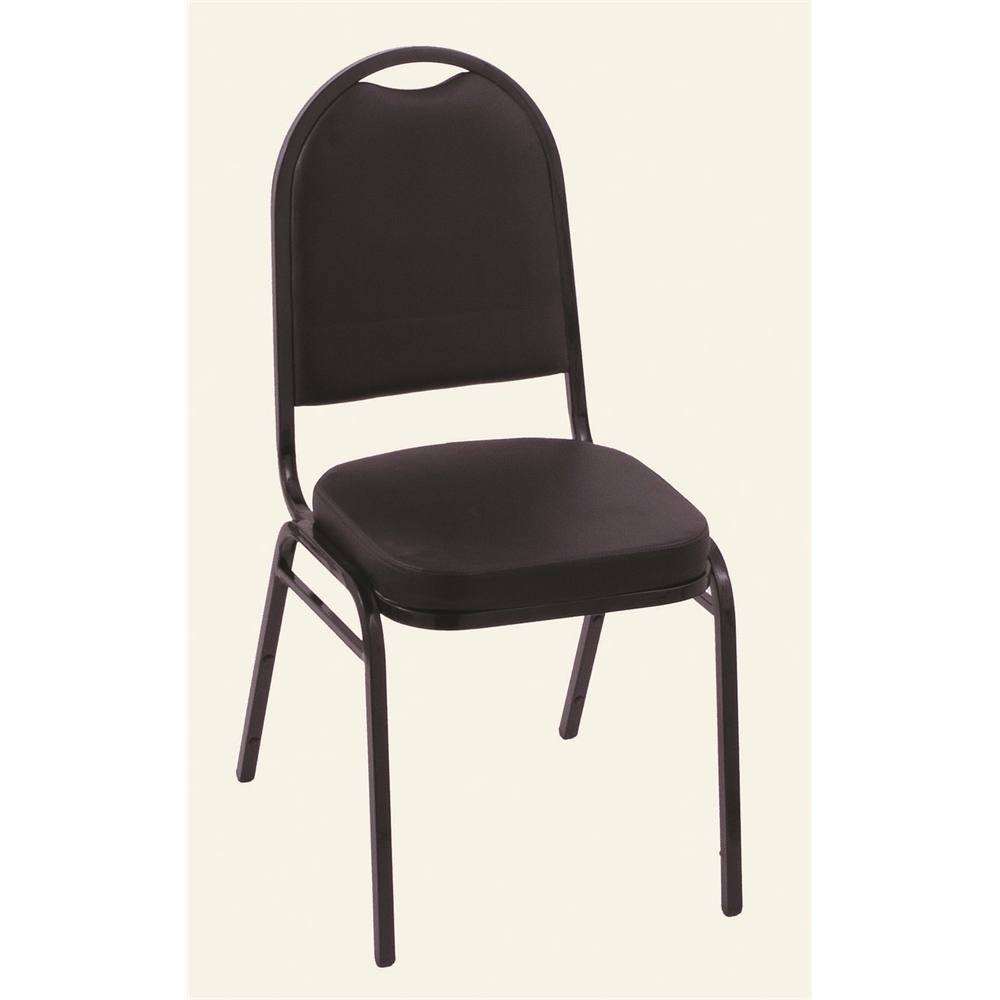 18 Quot Upholstered Stack Chair From