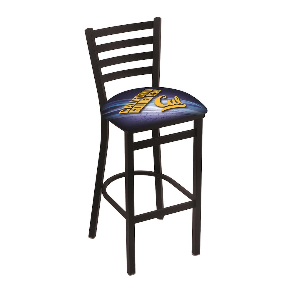 L004 25 Quot Black Wrinkle Cal Stationary Counter Stool With