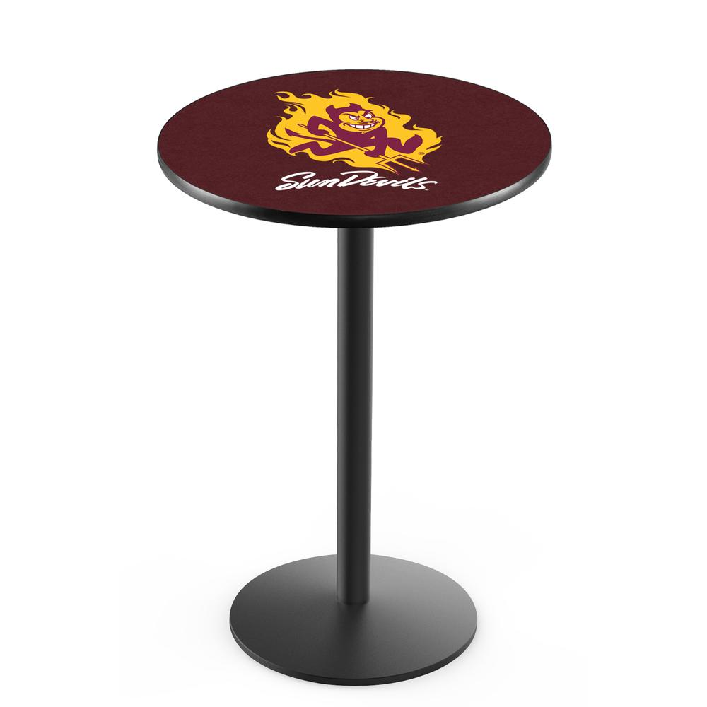Arizona state pub table with sparky logo for Table table logo