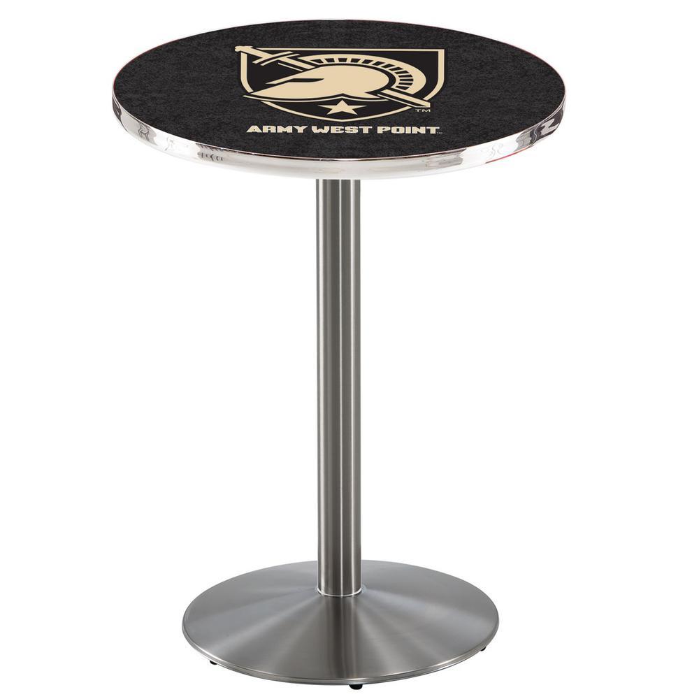 L214-36 Black Wrinkle Florida Pub Table Holland Bar Stool Co