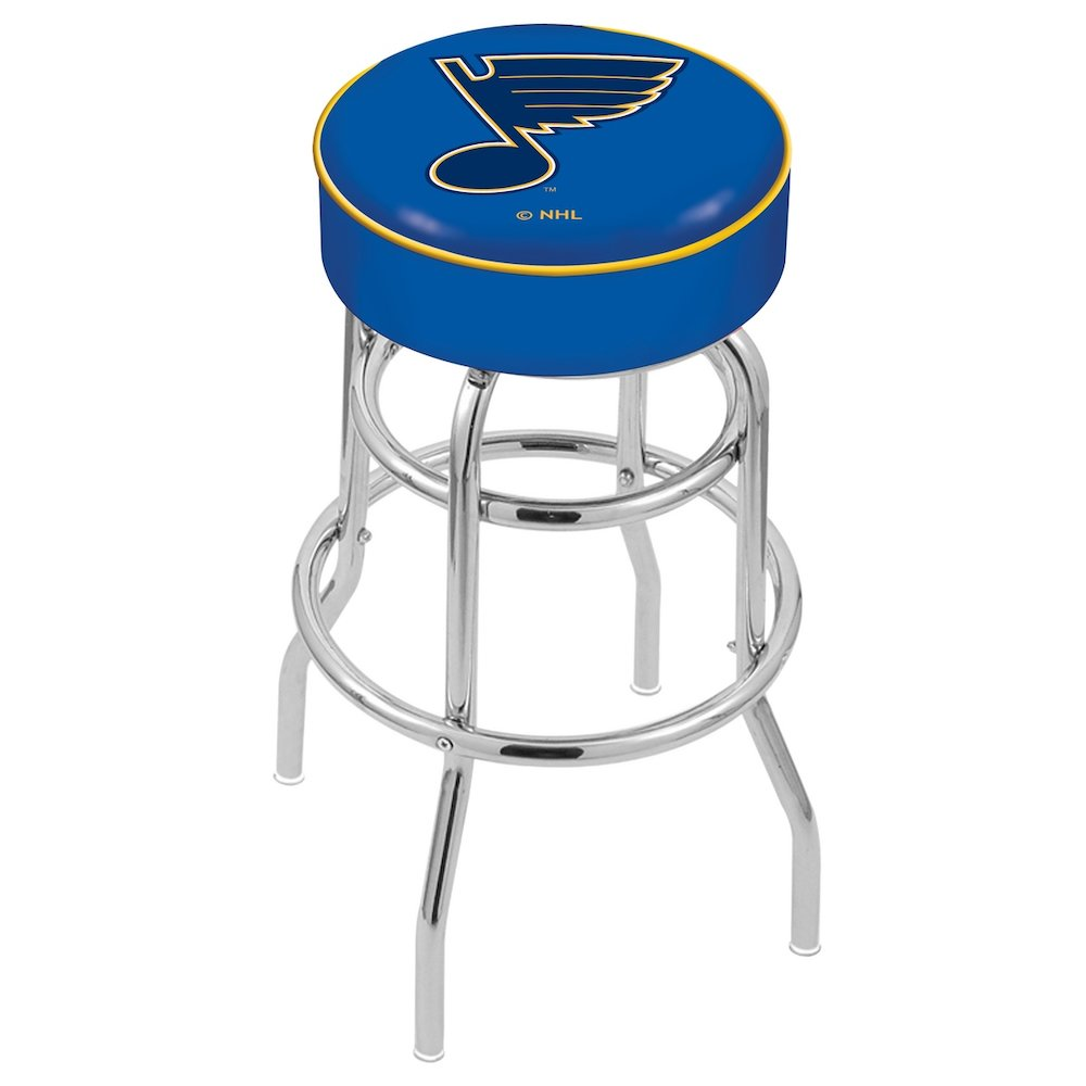 30 Quot L7c1 4 Quot St Louis Blues Cushion Seat With Double Ring