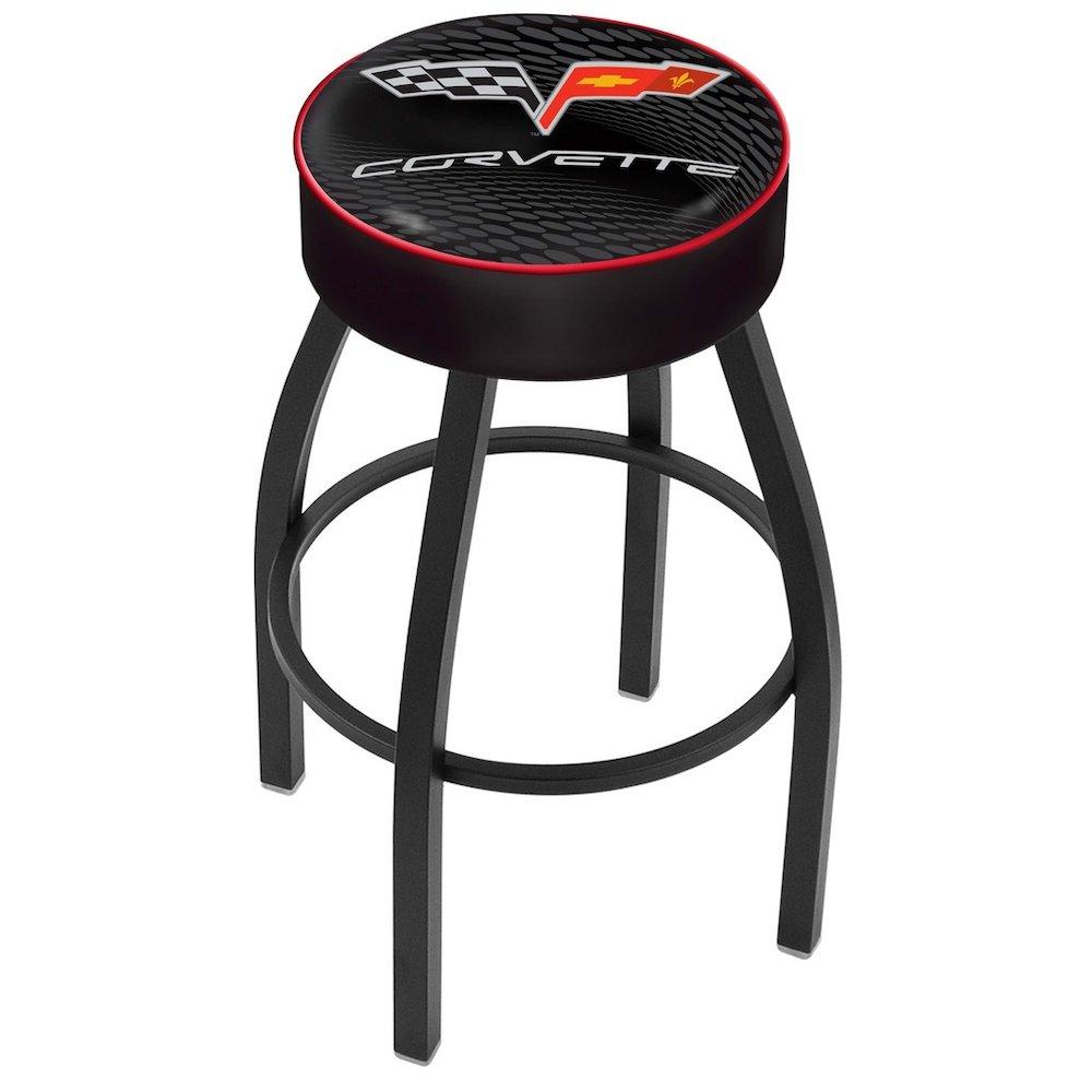 25 Quot L8b1 4 Quot Corvette C6 Black Cushion Seat With Black