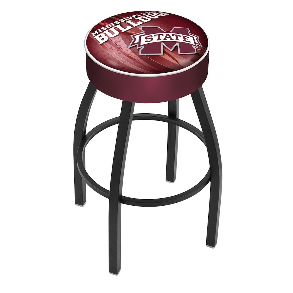 25 Quot L8b1 4 Quot Mississippi State Cushion Seat With Black