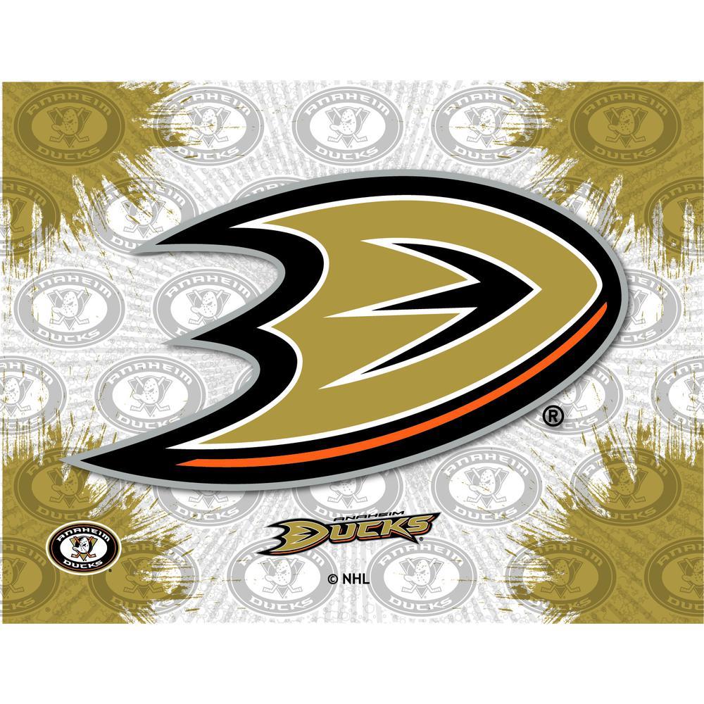 Anaheim Ducks Logo Canvas