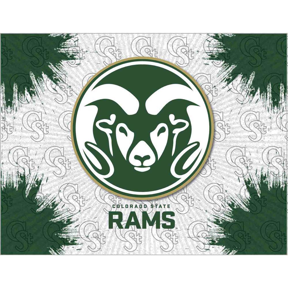 Colorado State Logo Canvas