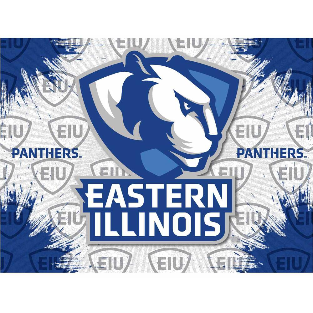 Eastern Illinois Logo Canvas