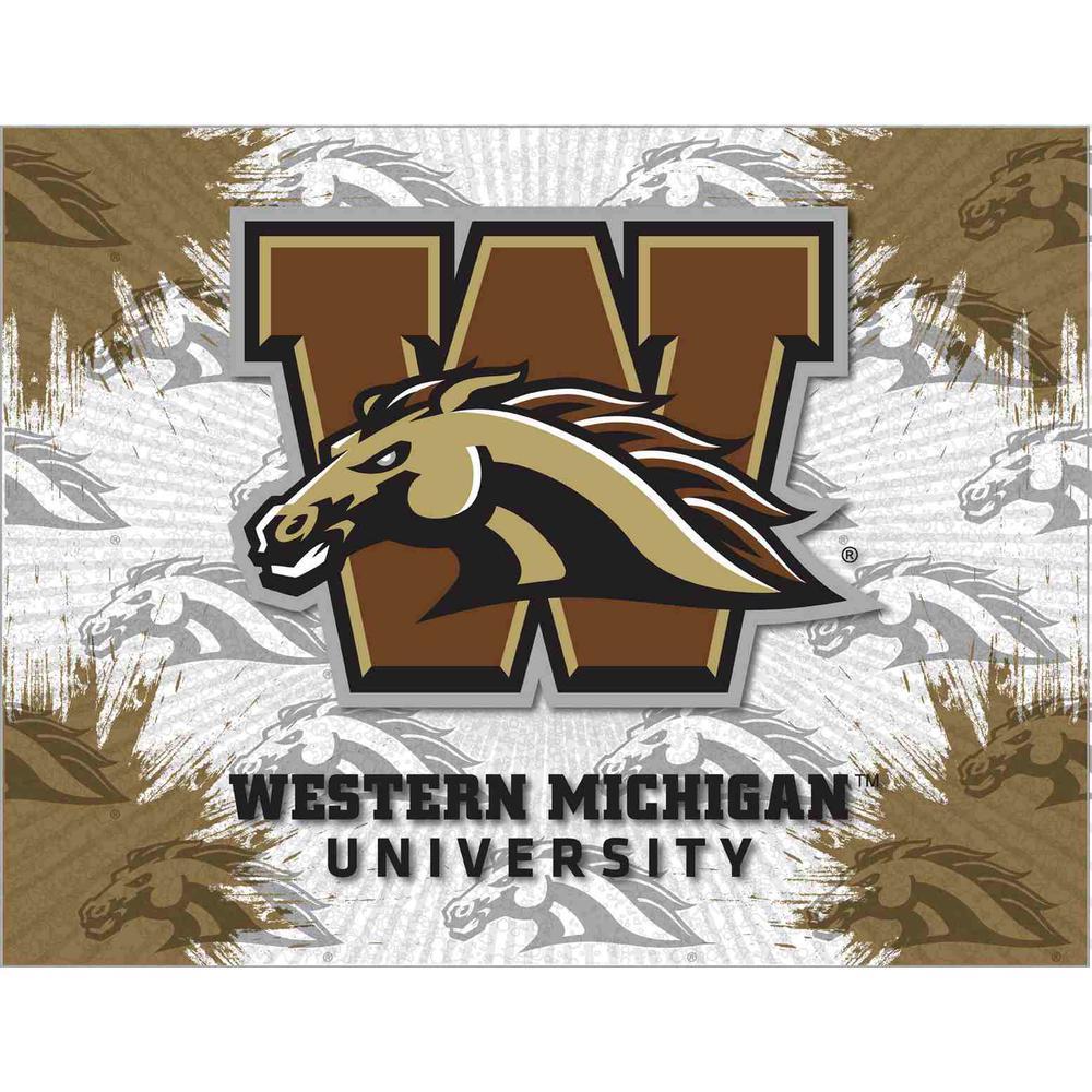 Western Michigan Logo Canvas