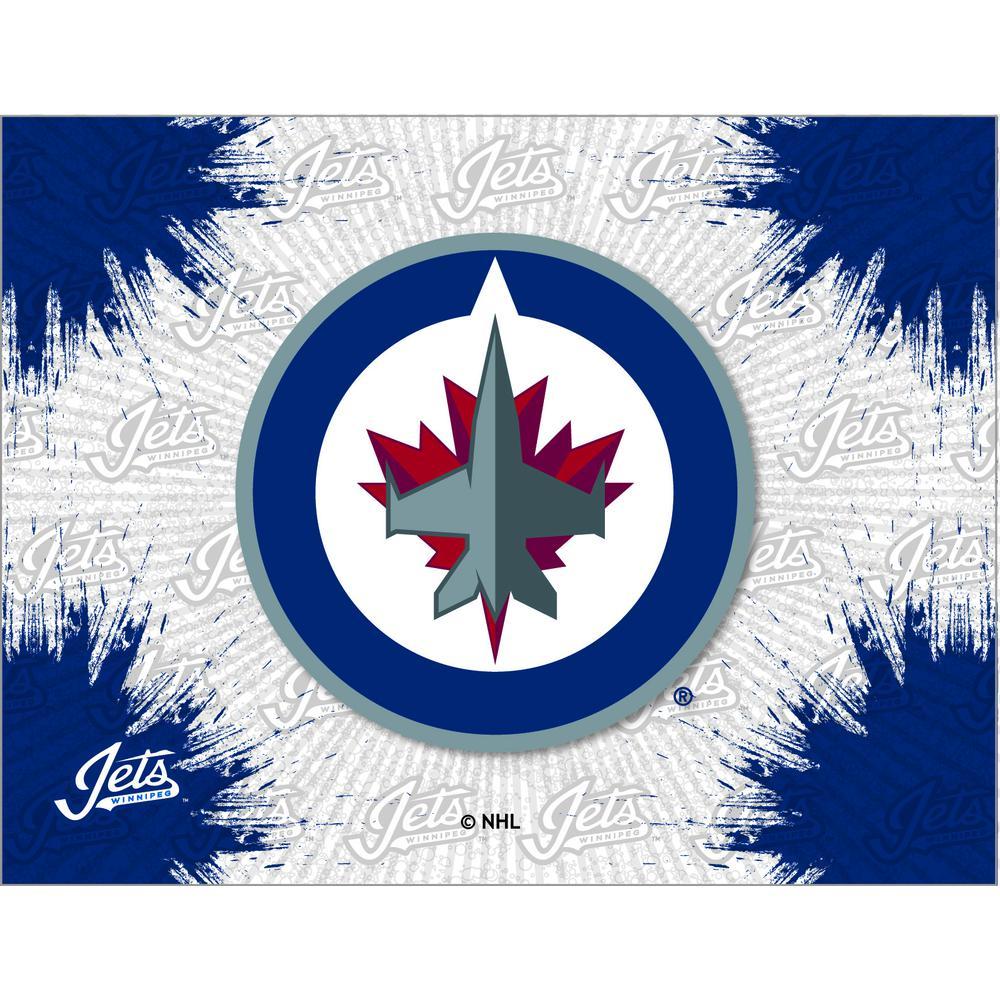 Winnipeg Jets Logo Canvas